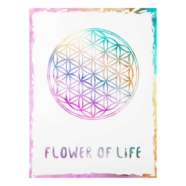 Product picture Print on Glass - Flower of life...