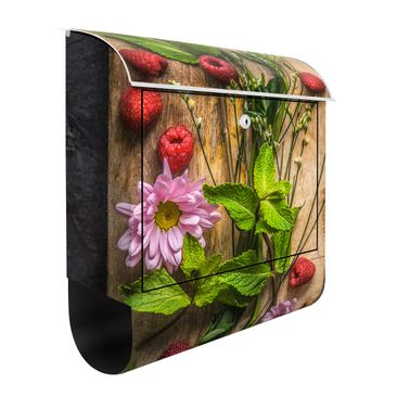Product picture Design Letter Box Flower raspberries...
