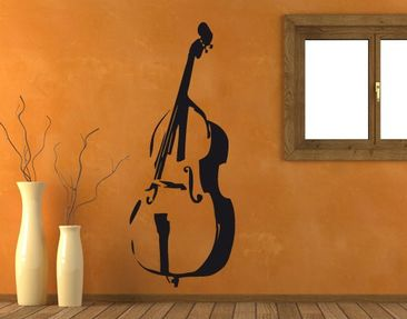 Product picture Wall Decal No.UL39 Contrabass