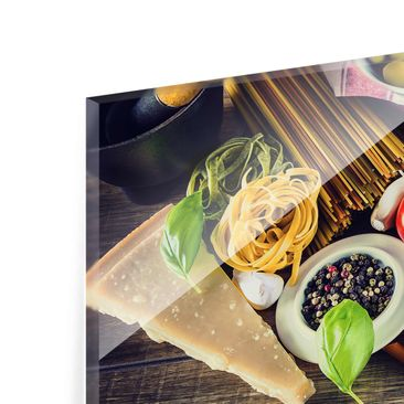 Product picture Print on Glass - Pasta - Glass Wall Art...