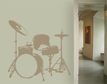 Product picture Wall Decal No.UL38 Drums