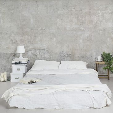 Immagine del prodotto Carta da parati larga - Concrete Wallpaper - Shabby Plain Concrete Wall