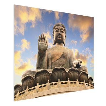 Produktfoto Forex Fine Art Print - Großer Buddha -...