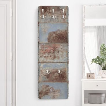 Product picture Coat Rack - Shabby Industrial Metal...