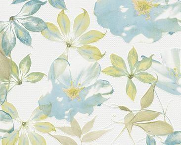 Produktfoto Esprit Tapete - Lakeside Blau Bunt Weiß...