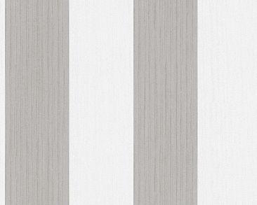 Produktfoto Esprit Streifentapete - Woods - Braun Weiß - mit Struktur - Esprit Home 10
