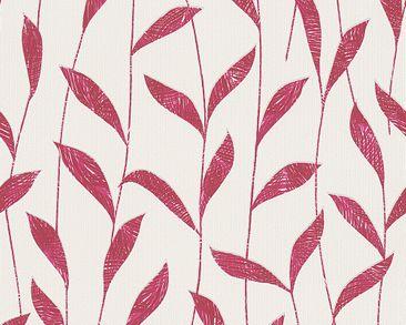 Produktfoto Esprit Tapete - Urban Spring Rot Weiß -...