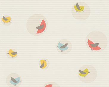 Produktfoto Esprit Kids 4 - Bubble Birds Beige Bunt - mit Struktur - Esprit Home