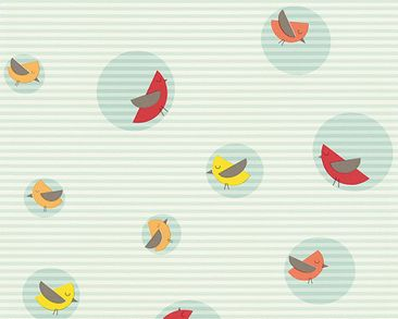 Product picture Esprit Kids Wallpaper - Bubble Birds...