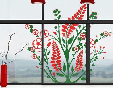 Produktfoto Fensterfolie - Fenstersticker No.TA43 Bloomy Twine  - Fensterbilder