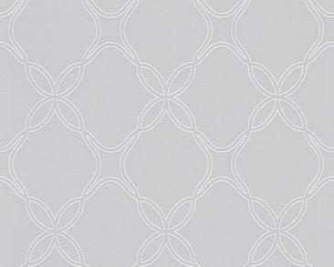 Produktfoto Schöner Wohnen Tapete - New Heritage Grau Metallic Weiß - mit Struktur - Kollektion 8