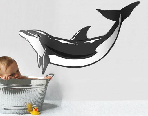 Produktfoto Wandtattoo No.TA49 Dolphin