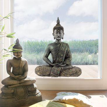 Immagine del prodotto Adesivi da finestra Zen Buddha di Pietra
