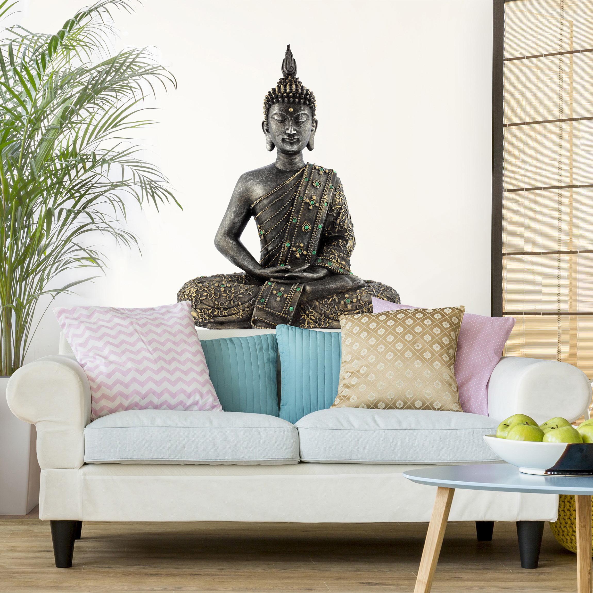 Wandtattoo zen buddha stein - Schlafzimmer buddha ...