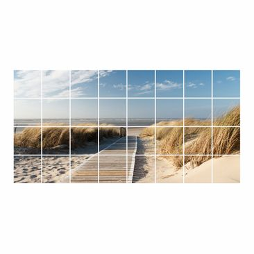 Product picture Tile Mural Baltic beach