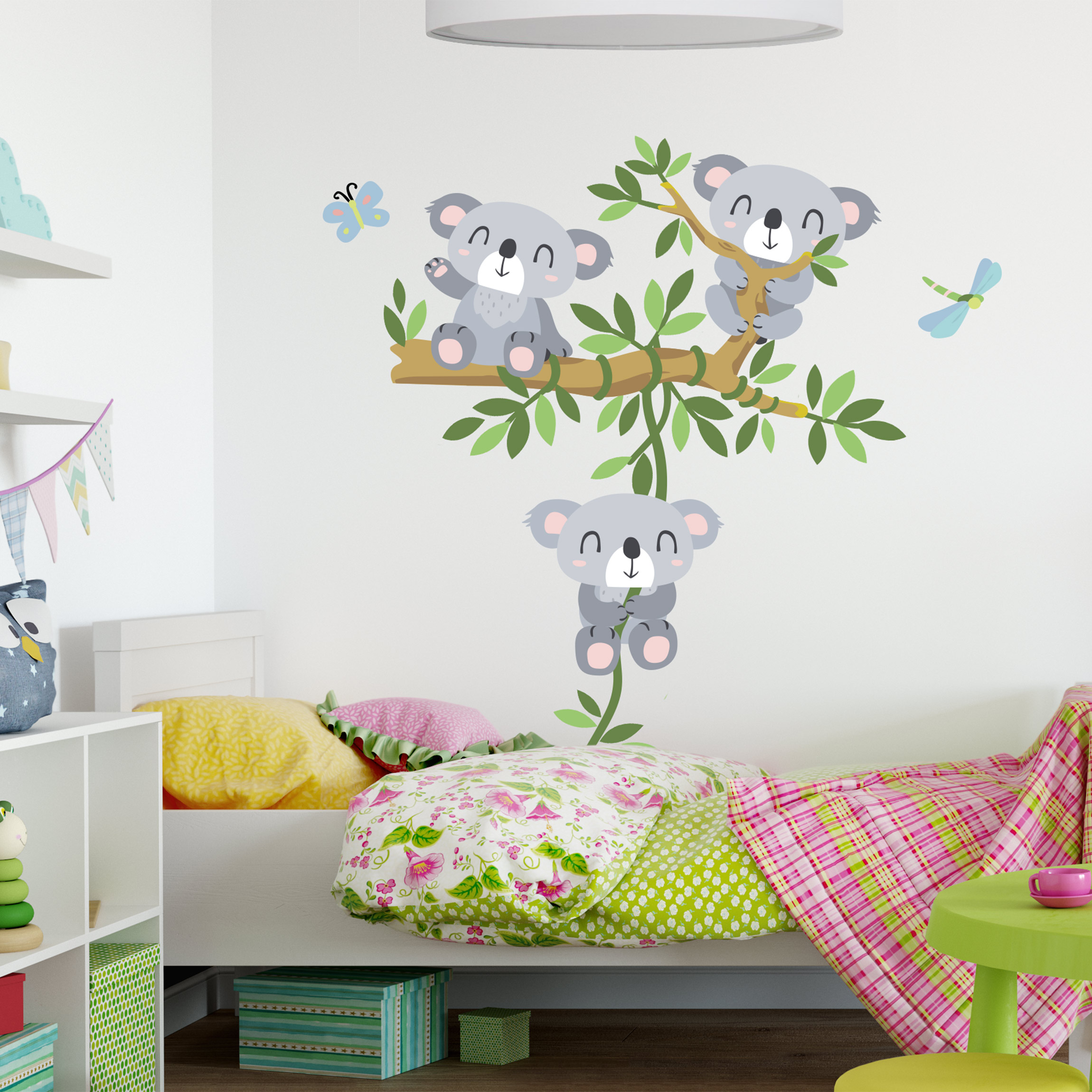 Wandtattoo kinderzimmer koala set - Wandtattoo janosch ...