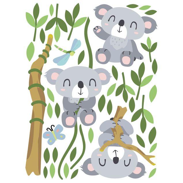 Produktfoto Wandtattoo Kinderzimmer Koala Set