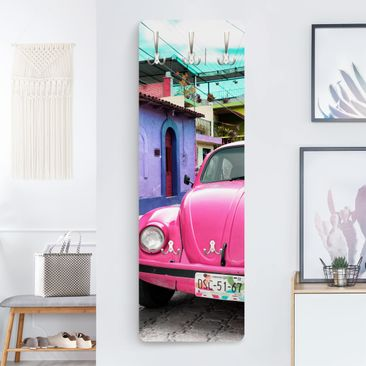 Product picture Coat Rack - Pink VW Beetle - Slender...