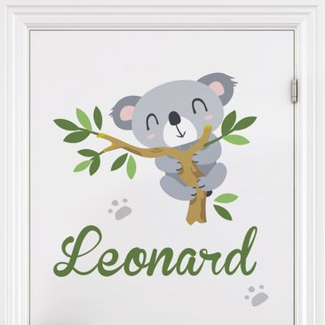 Product picture Wall Decal Nursery - Koala bear branch -...