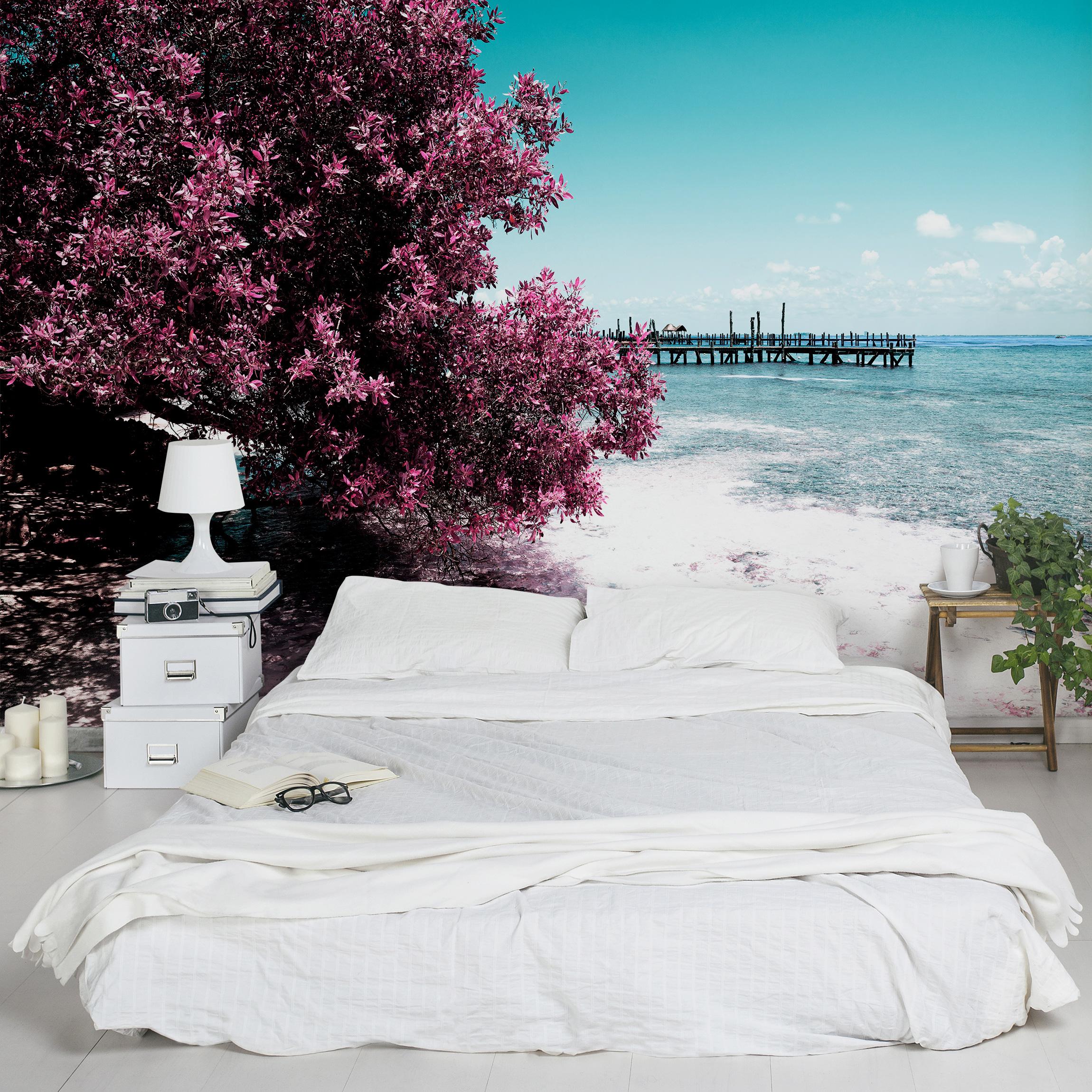 karibik fototapete selbstklebend paradies strand isla mujeres. Black Bedroom Furniture Sets. Home Design Ideas