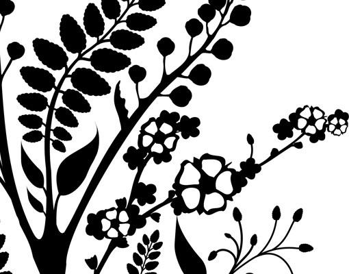 Produktfoto Wandtattoo Floral Ranke No.TA43 Bloomy Twine