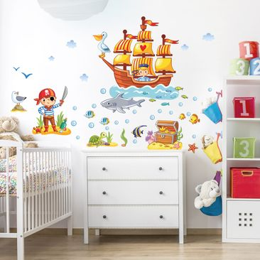 Product picture Wall Decal Pirates set