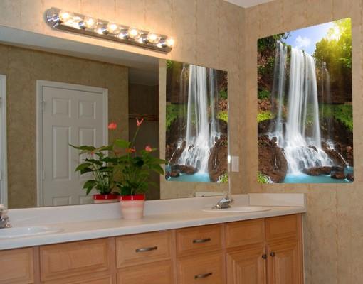 Produktfoto Selbstklebendes Wandbild Waterfalls