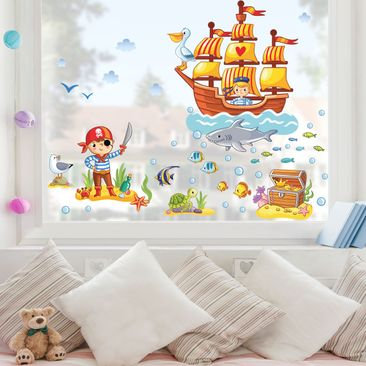 Product picture Window Sticker Pirates set