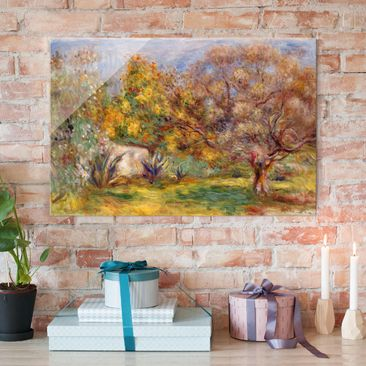 Immagine del prodotto Stampa su vetro - Auguste Renoir - Uliveto - Impressionismo - Orizzontale 2:3