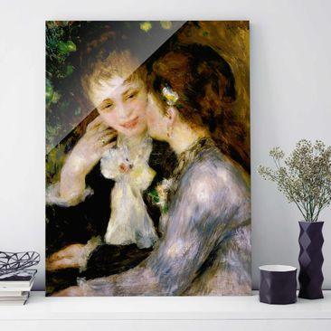 Immagine del prodotto Quadro su vetro - Auguste Renoir - Confidenze - Impressionismo - Verticale 4:3
