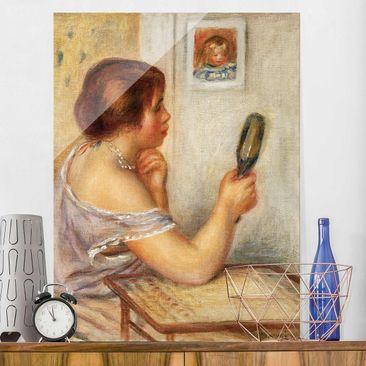 Produktfoto Glasbild - Kunstdruck Auguste Renoir -...