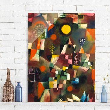 Immagine del prodotto Quadro su vetro - Paul Klee - La Luna piena - Espressionismo - Verticale 4:3