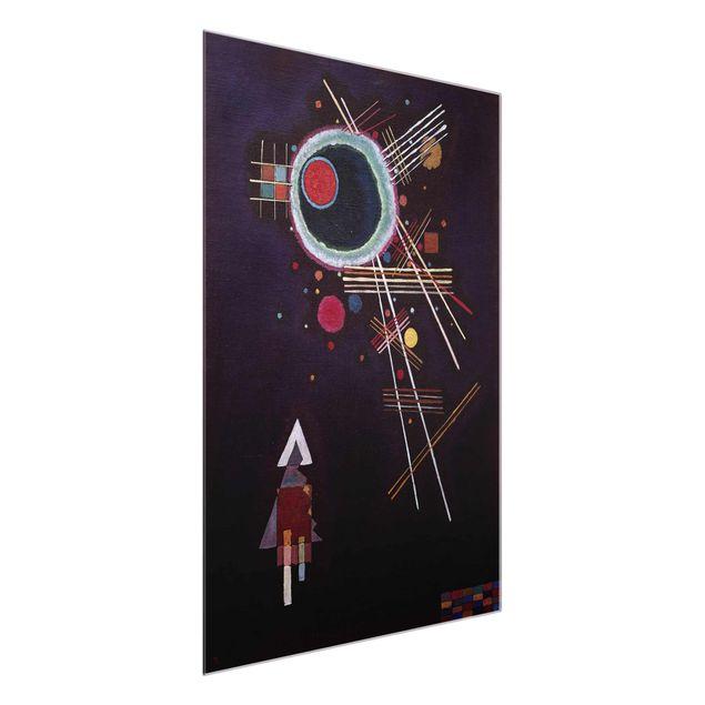 Immagine del prodotto Stampa su vetro - Wassily Kandinsky - Raggi Linee - Espressionismo - Verticale 4:3