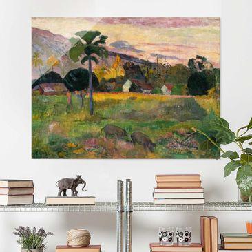 Immagine del prodotto Stampa su vetro - Paul Gauguin - Haere mai - Post-Impressionismo - Orizzontale 3:4
