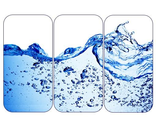 Produktfoto Selbstklebendes Wandbild Sensational Fresh Triptychon