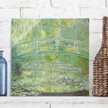 Product picture Print on Glass - Claude Monet - Water...