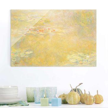 Immagine del prodotto Quadro su vetro - Claude Monet - Il Laghetto delle Ninfee - Impressionismo - Orizzontale 2:3