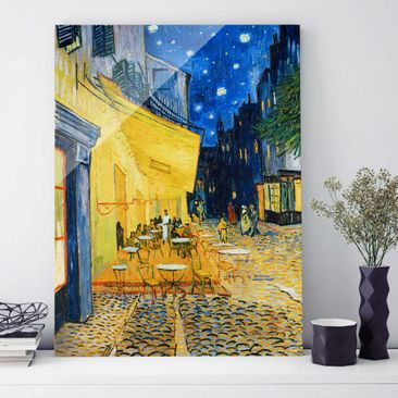 Product picture Print on Glass - Vincent van Gogh -...