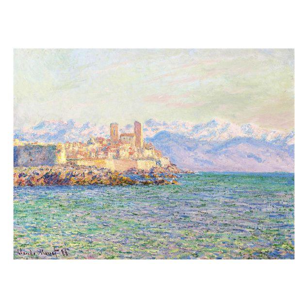 Produktfoto Glasbild - Kunstdruck Claude Monet -...