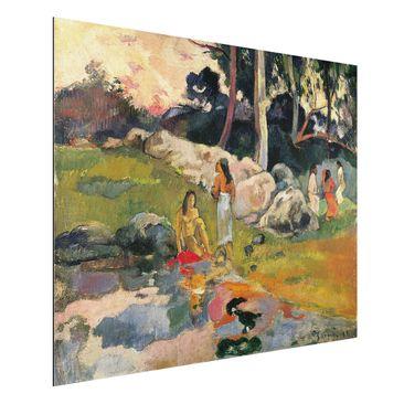 Immagine del prodotto Stampa su alluminio - Paul Gauguin - Donna sulle rive del fiume - Post-Impressionismo - Orizzontale 3:4