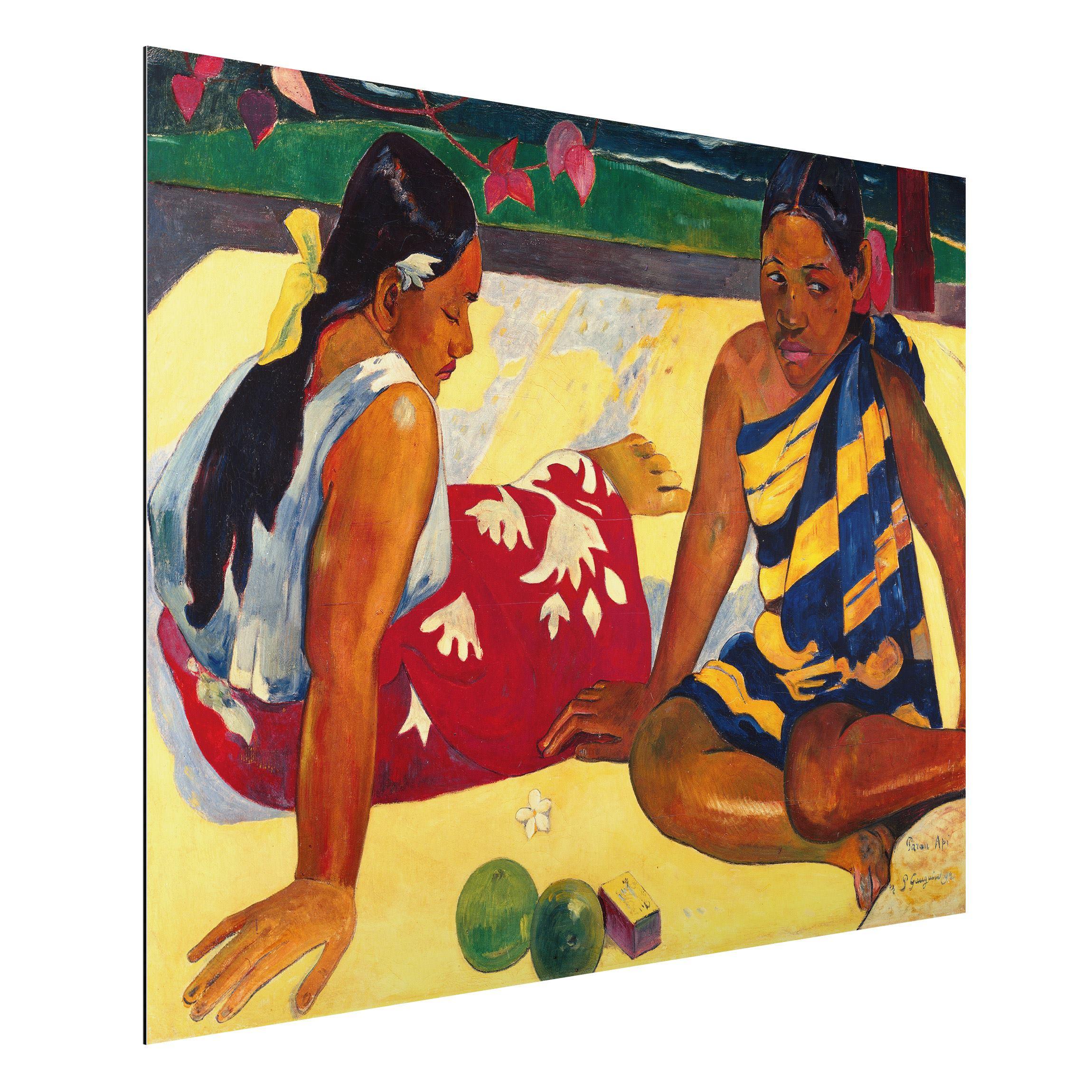 Paul Gauguin: Ruperupe. Kunstdruck, Leinwandbild