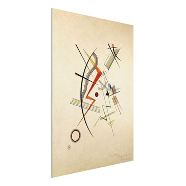 Product picture Aluminium Print - Wassily Kandinsky -...