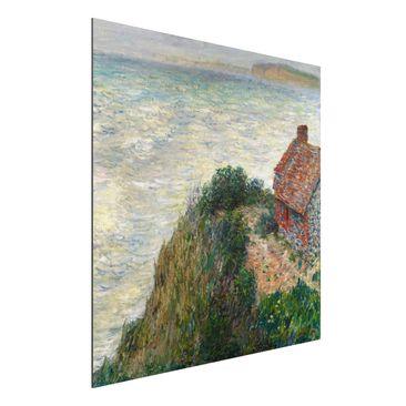 Immagine del prodotto Stampa su alluminio - Claude Monet - Casa del Pescatore a Petit Ailly - Impressionismo - Quadrato 1:1