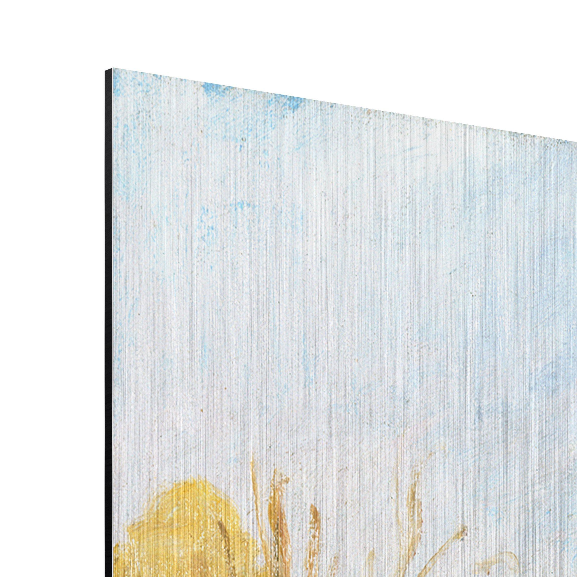 alu dibond geb rstet kunstdruck camille pissarro landschaft bei pontoise impressionismus. Black Bedroom Furniture Sets. Home Design Ideas