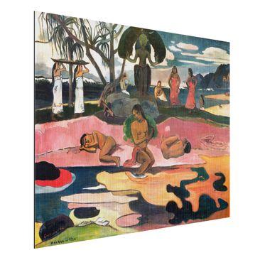 Immagine del prodotto Stampa su alluminio spazzolato - Paul Gauguin - Giorno di dio (Mahana No Atua) - Post-Impressionismo - Orizzontale 3:4