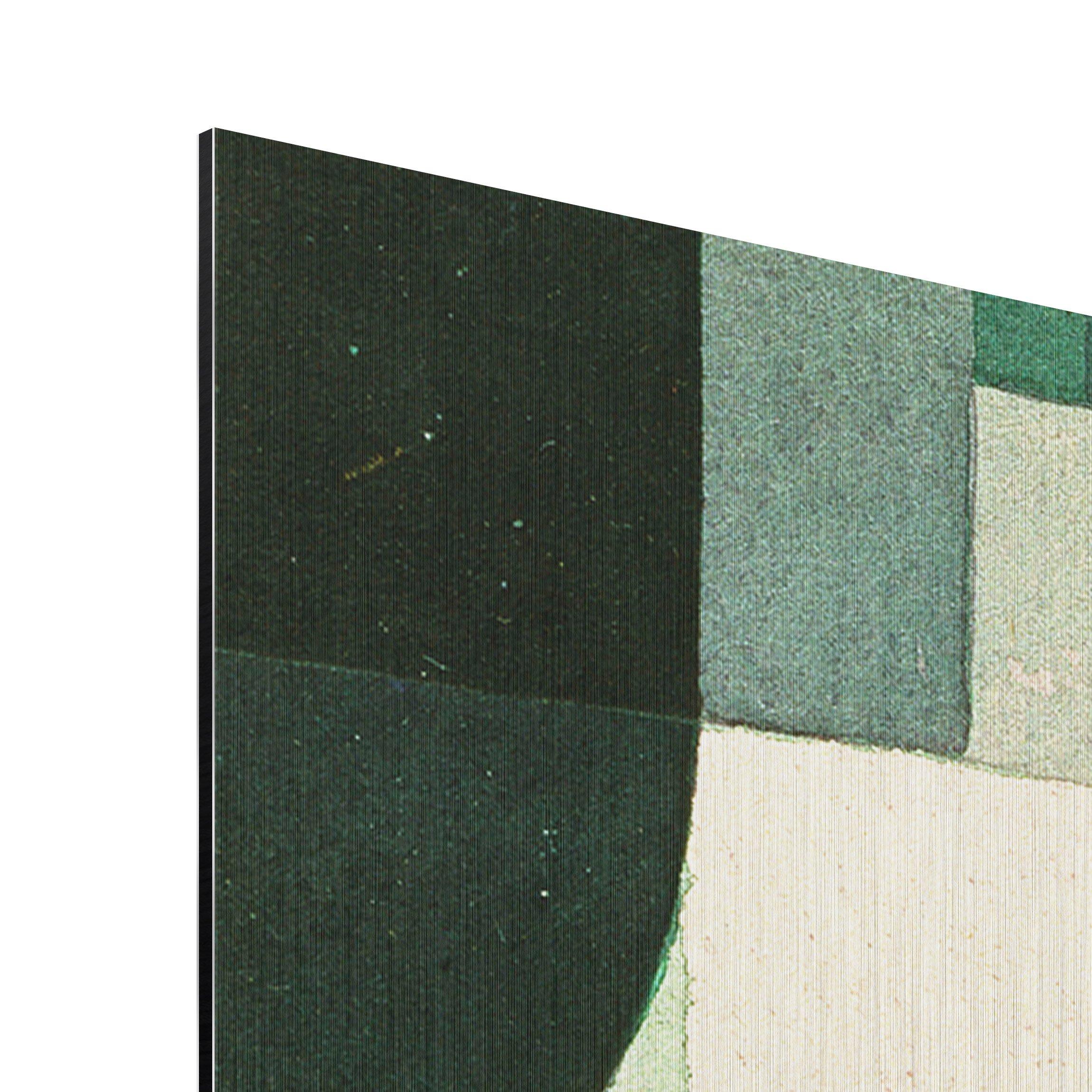 alu dibond geb rstet kunstdruck paul klee schleusen expressionismus quer 2 3. Black Bedroom Furniture Sets. Home Design Ideas