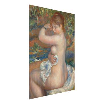 Immagine del prodotto Stampa su alluminio spazzolato - Auguste Renoir – Bagnante - Impressionismo - Verticale 4:3
