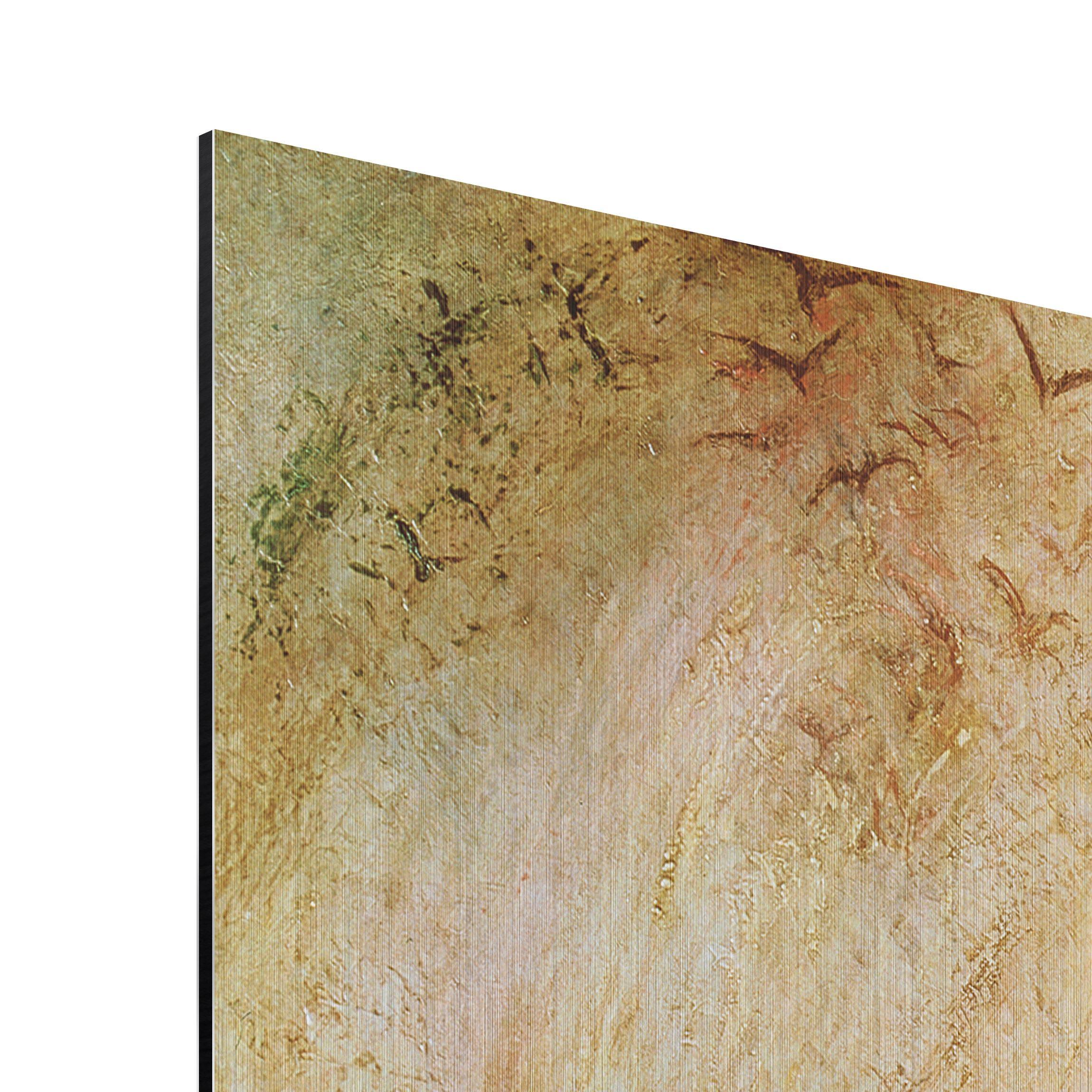 alu dibond geb rstet kunstdruck william turner der engel vor der sonne romantik quadrat 1 1. Black Bedroom Furniture Sets. Home Design Ideas