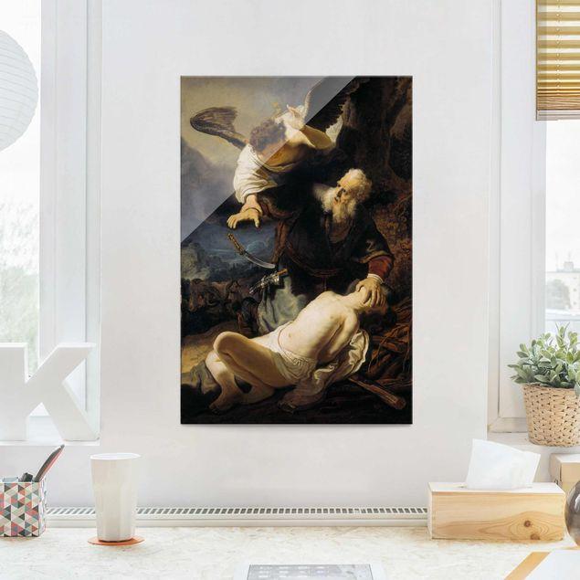 Produktfoto Glasbild - Kunstdruck Rembrandt van Rijn...