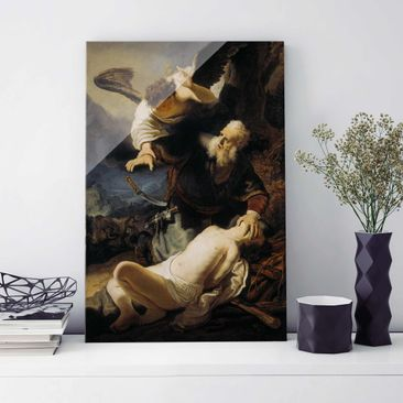 Product picture Print on Glass - Rembrandt van Rijn -...